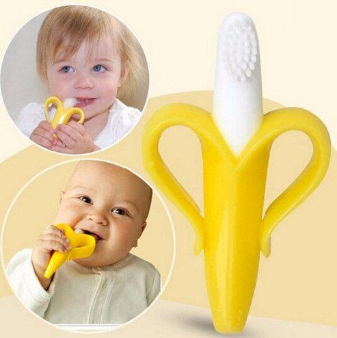 Banana Baby Teether/Toothbrush