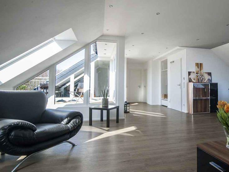 14 besten Ideen für Deine Wohnung im Dachgeschoss mit Dachschrägen - wohnzimmer ideen dachgeschoss