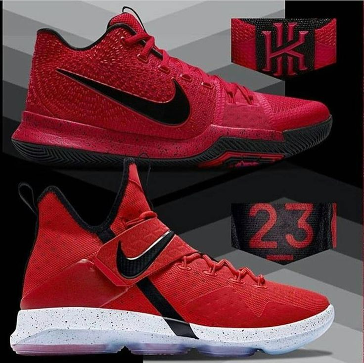 Pick up a new pair of basketball kicks from Cleveland's finest. A new  LeBron 14 and Kyrie 3 colorway are out now.