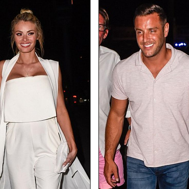 Chloe Sims and Elliott Wright reunite in Marbella for TOWIE special at Sisu's Cavalli Club