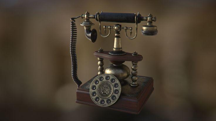 ArtStation - Vintage Call, Marie Ayme