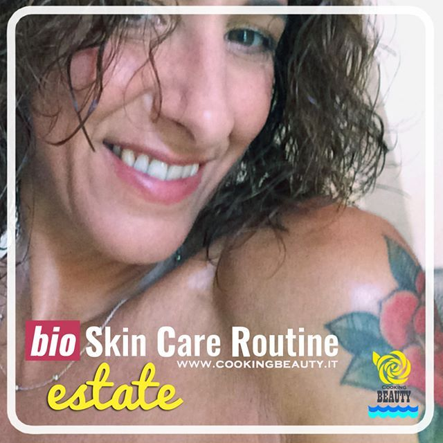 Nuovo articolo su CookingBeauty (link in bio): Skin care routine bio per l'estate.☀️ Ti racconto come curo la pelle del viso in questo periodo in cui sole, caldo e mare ne modificano le esigenze. Molti dei prodotti utilizzati sono semplici ingredienti alimentari :) . Qual è il prodotto preferito della tua beauty routine estiva? . #skincare #skincareroutine #summerskincareroutine #beautyroutine #curadellapelle #ecobio #handmadecosmetics #diycosmetics #greenbeauty #beauty #green #mua #mue…