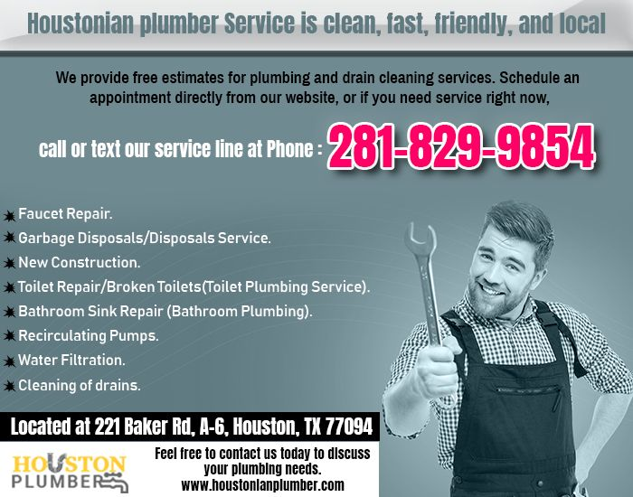 When It Comes To Finding A Reliable Plumber In Houston It Can Be A Daunting Task We Think You Came To The Righ Water Heater Repair Water Heater Heater Repair