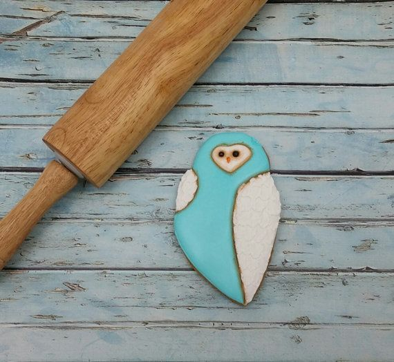Arty McGoo's Snowy Owl Cookie Cutter and Clay Cutter