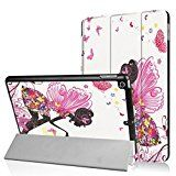 Coohole Fashion Folding Stand Painted Leather Protective Case Cover For ipad 9.7Inch 2017 Tablet (D)   Compatilbe For NEW Apple ipad 9.7Inch 2017 Tablet Material: Artificial Leather Lightweight, compact, easy to carry and handle. Multi Angle for view and folio stand design. Open-face design and...
