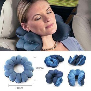 Cervical travesseiro multifunções massagem almofadas pescoço Rest travesseiro de viagem de carro grátis frete