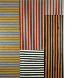 Sean Scully: Araby, 1981, huile sur toile - © Sean Scully.