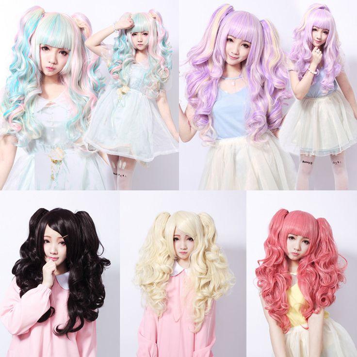"Japanese kawaii cosplay harajuku lolita anime wigs - Use the code ""batty"" at Sanrense for a 10% discount!"
