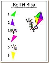 The Letter K: Roll a Kite game
