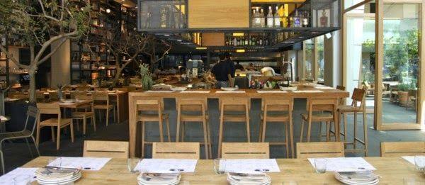 """Restaurante """"Cuines"""" en Polanco ( México DF ). Visto por @Rochinadecor en www.iliaestudio.blogspot.com.es"""