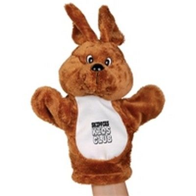 Plush Kangaroo Custom Hand Puppet Min 50 - PROMOSXCHANGE offers a range of plush toys, temporary tattoos and other interesting Aussie gifts, Australian Gifts, Australia merchandise. Call 1800 PROMOS (776 667) - GO-882881s - Best Value Promotional items including Promotional Merchandise, Printed T shirts, Promotional Mugs, Promotional Clothing and Corporate Gifts from PROMOSXCHAGE - Melbourne, Sydney, Brisbane - Call 1800 PROMOS (776 667)