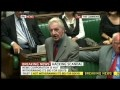 'Lousy Rotten Tory Government Propped Up By Pathetic Liberals' - Dennis Skinner MP
