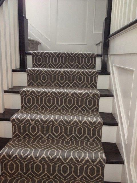 stair runner carpet - patterned