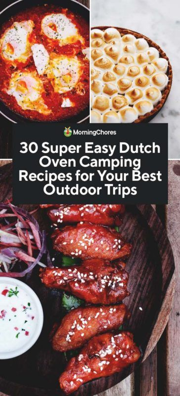 Dutch Oven Camping Recipes Outdoor Cooking