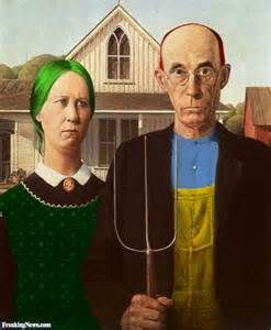 American Gothic Color Pictures - Freaking News