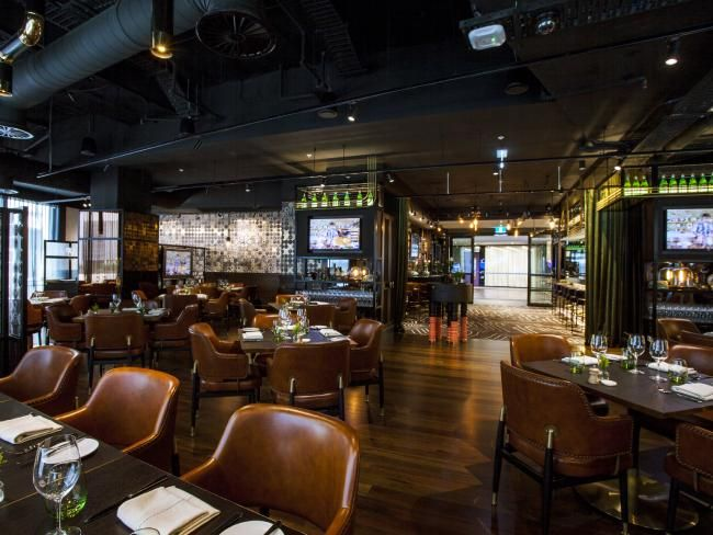 telstra opens private restaurant the exchange for corporate clients not the public dailytelegraph carpet designdesign