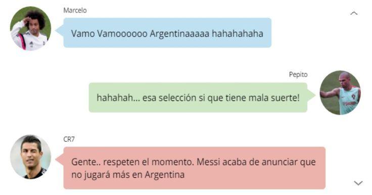 Las reacciones de todo el mundo no se hicieron esperar tras el nuevo fracaso de la selección de Argentina al perder nuevamente otra final, esta vez la de la Copa América Centenario 2016 frente a los chilenos en serie de penales.