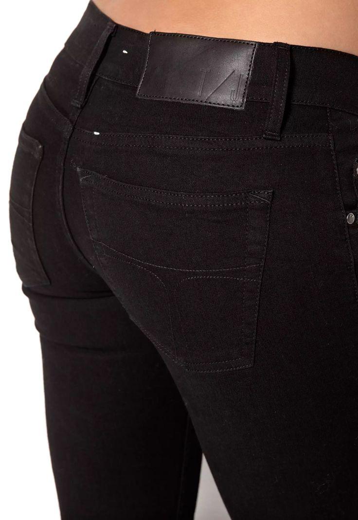 Tiger svart jeans, slender
