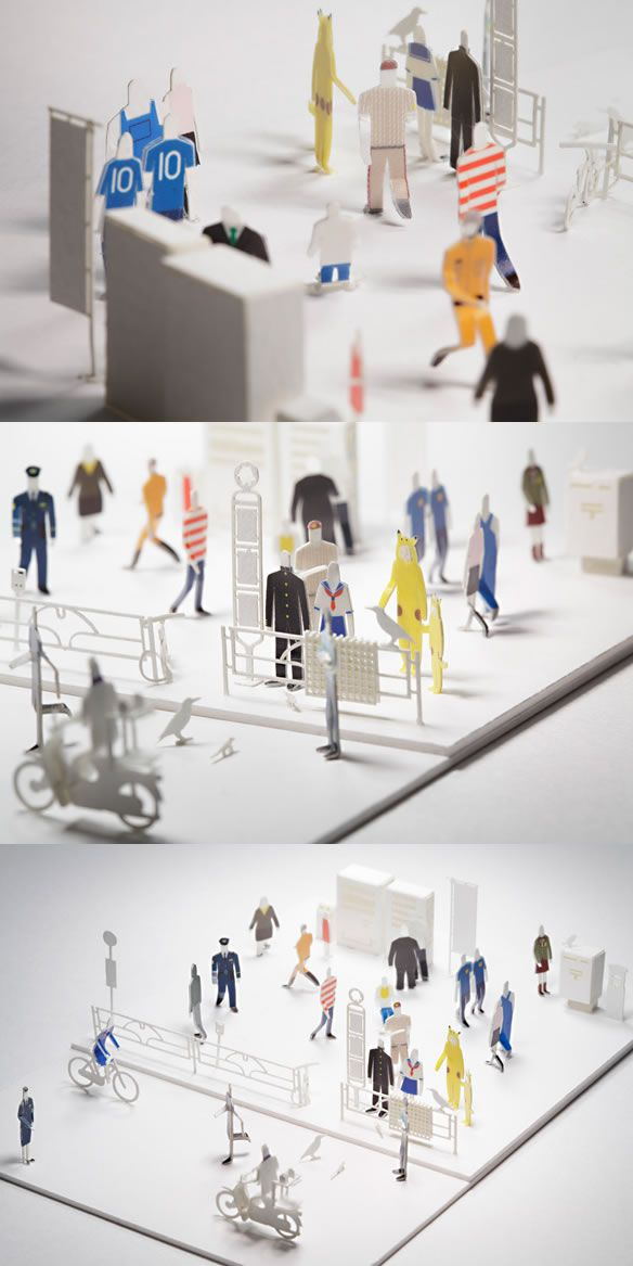 DRESS-UP STICKERS for ARCHITECTURAL MODEL ACCESSORIES SERIES No