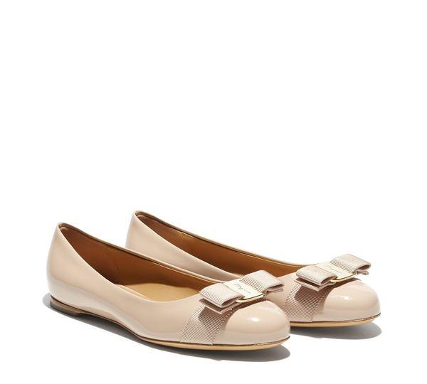 #SalvadoreFerragamo #Shoes - Varina in new bisque patent - $495