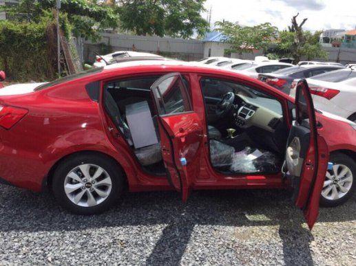 KIA RIO Sedan (ĐỎ) 2106 hàng nhập khẩu Hàn Quốc đã có tại TPHCM
