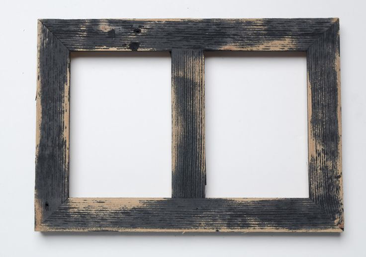 2 hole 5x7 Barnwood Collage Frame-Rustic Picture Frame-Home Decor Frames-Reclaimed-Cottage Chic-Collage Frame-Picture Frames by rustymill on Etsy https://www.etsy.com/listing/211785117/2-hole-5x7-barnwood-collage-frame-rustic