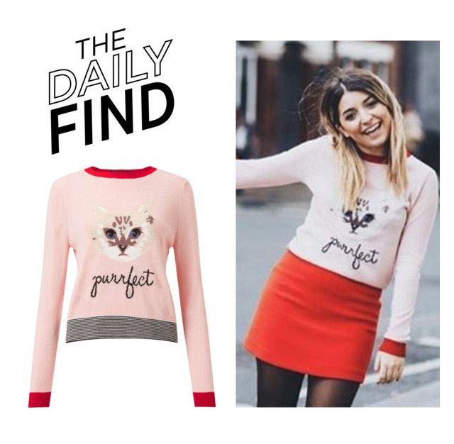 """The Daily Find: Miss Selfridge Sweater"" by polyvore-editorial ❤ liked on Polyvore featuring Miss Selfridge and DailyFind"