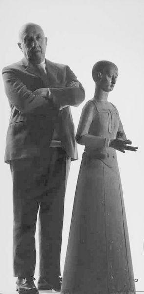 Fausto Melotti e l'Angelo Geometrico
