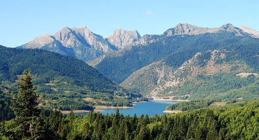VISIT GREECE| Lake Plastira, #Karditsa, #Thessaly, photo© GNTO/ Karditsa Prefecture_Giannakis