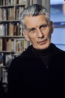 Samuel Beckett, 1906-1989, (Ire.) novelist, playwright. Waiting for Godot, Endgames (plays) Murphy Watt Molloy, (novels).