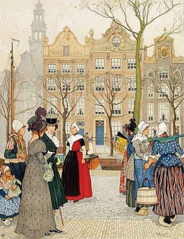 Henri Cassiers - Affiche Hollandsche Societeit van Levensverzekeringen