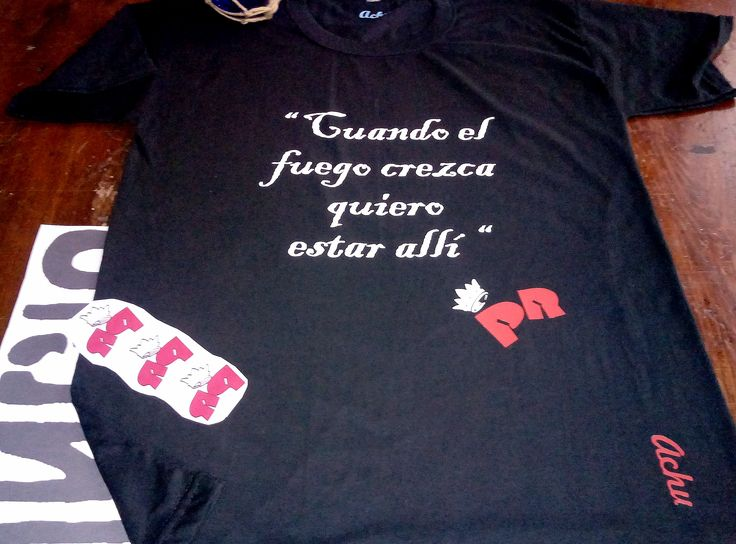 Achu' + Indio + Remera
