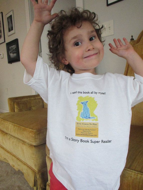 I'm a Super Reader TShirt  Evie Comes to Play by reworkdpress, $17.00