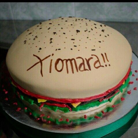 Torta Diseño hamburguesa!