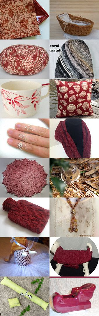 Cozy Gifts by Shellye on Etsy--Pinned+with+TreasuryPin.com