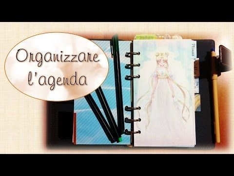 ❀Come organizzare l'Agenda❀