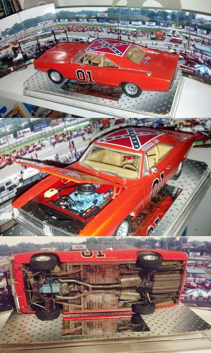 General Lee Charger Plastic Fanatic Pinterest
