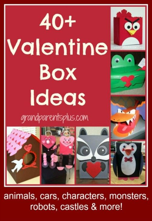 The next holiday, Valentine's Day, is just around the corner and hopefully these Valentine Box...