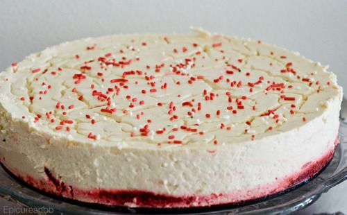 Red Velvet Cheesecake. Macros for whole cake Protein 176g/Carbs 188g/Fat 32/Fiber 6g/Calories 1863