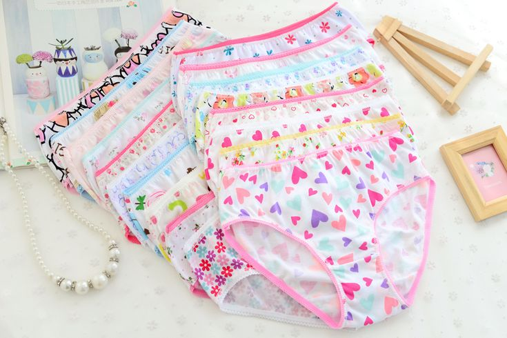 3pcs/pack 2016 Fashion New Baby Girls Underwear Cotton Panties For Girls Kids Short Briefs Infant Toddler Baby Underpants