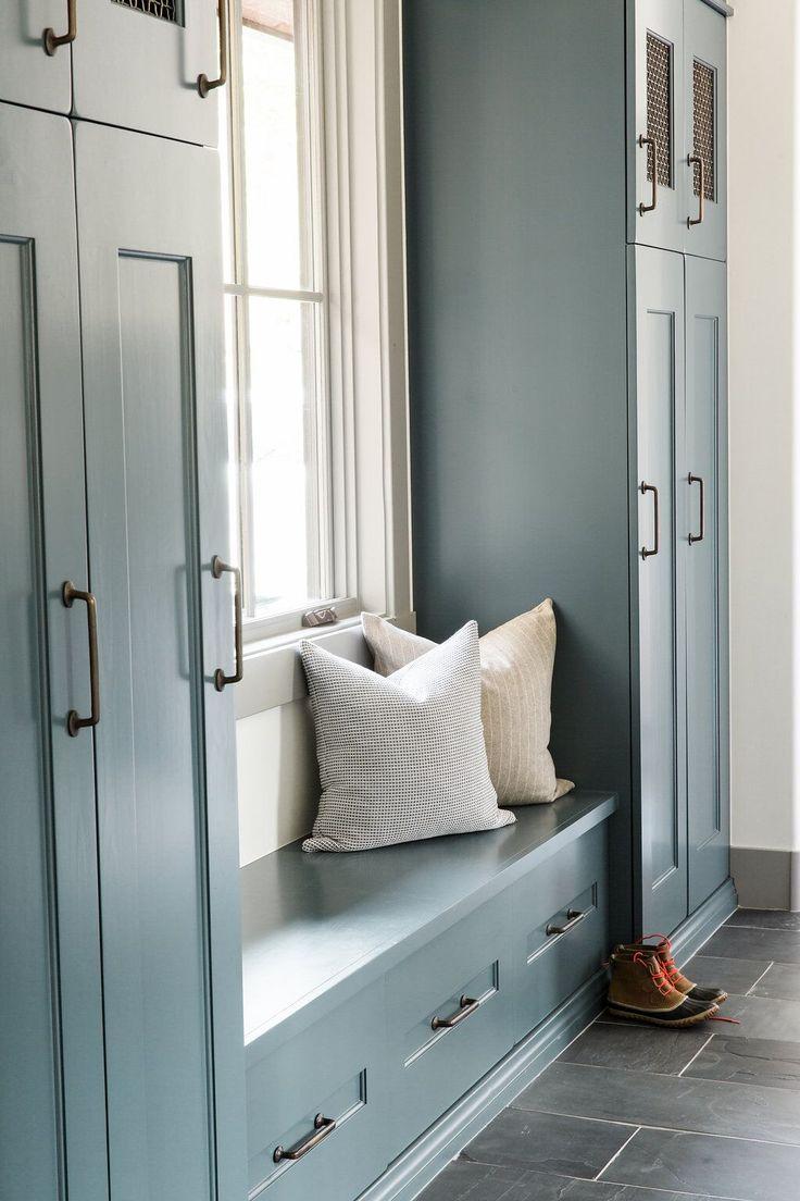Beautiful cabinetry! #mudroom homechanneltv.com