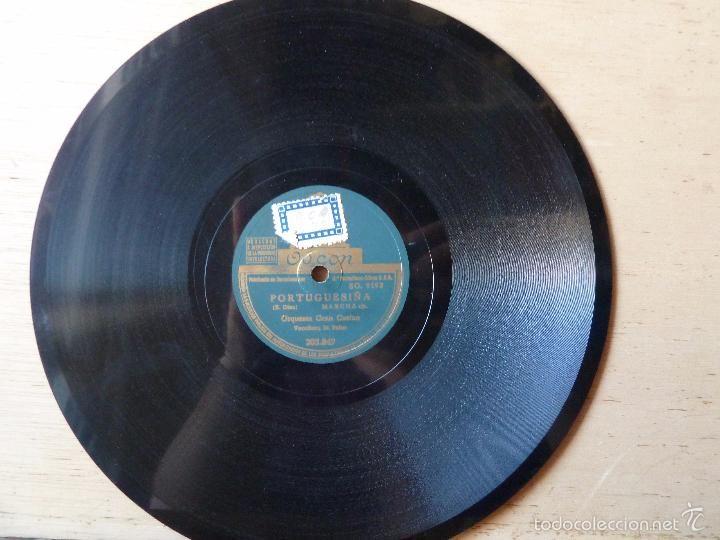 Discos de pizarra: ORQUESTA GRAN CASINO -LA BORRACHA -PORTUGUESIÑA- - Foto 2 - 56859512