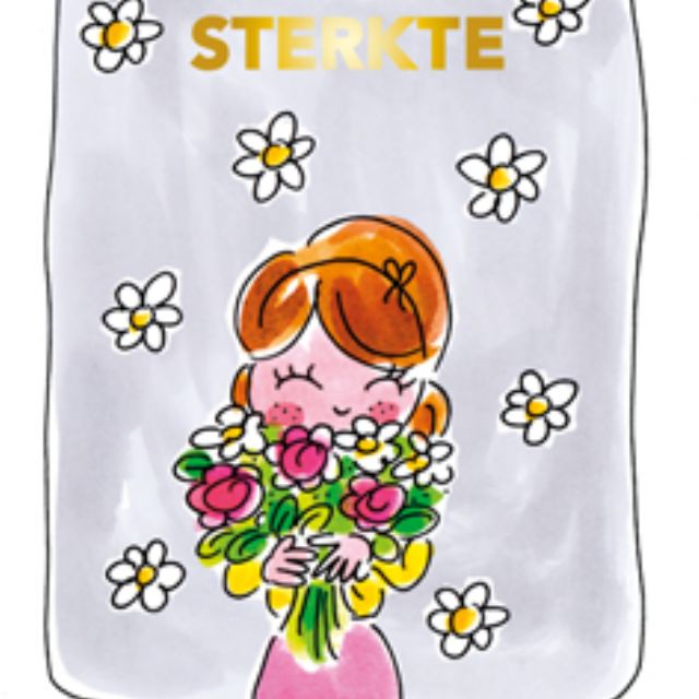 Blond Amsterdam thee kaart Sterkte
