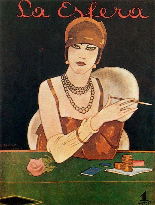 Rafael de Penagos (1889-1954) Обложки Ар-Деко. Обсуждение на LiveInternet - Российский Сервис Онлайн-Дневников