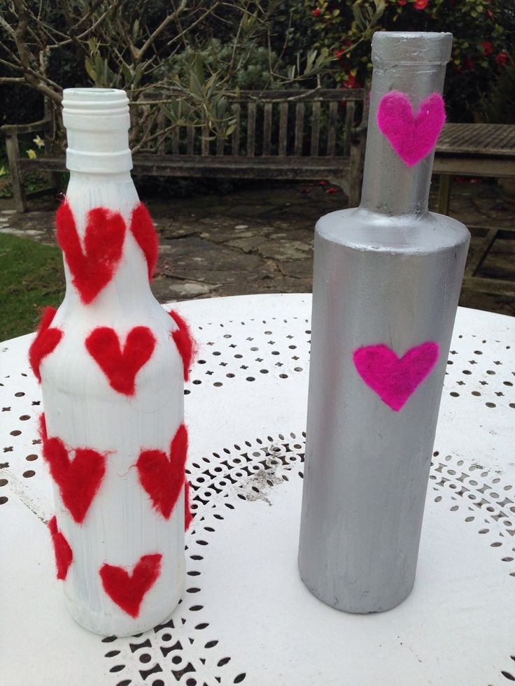 A personal favourite from my Etsy shop https://www.etsy.com/listing/228753692/a-collection-of-heart-bottles