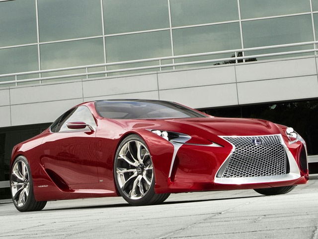 2015 Lexus LF LC On Track For Development | Super Car