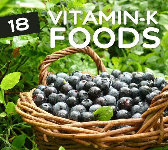 18 Foods High in Vitamin K- for stronger bones. Vitamin K plays a crucial role in proper blood coagulation (clotting), which prevents excessive bleeding. It also helps the body absorb calcium, and thus it's an essential aspect of bone health. Many foods, especially leafy vegetables, are abundant in Vitamin K, so make sure you're eating right and maintaining a Vitamin K rich diet.