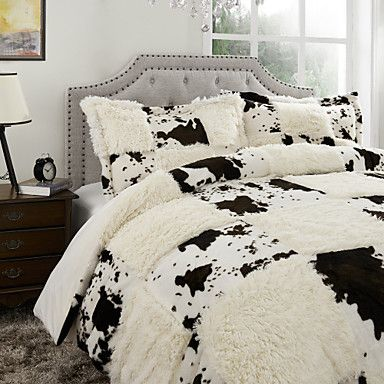 Plaid+Polyester+Duvet+Cover+Sets+–+USD+$+61.99