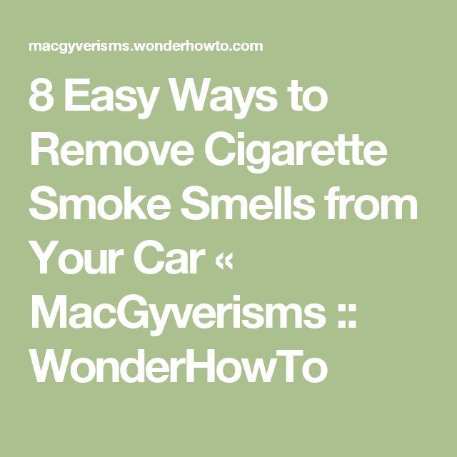 Best 25 Cigarette Smoke Removal Ideas On Pinterest Cigarette Smoke Smoke Smell And Smoke Out