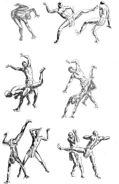 Capoeira Drawing